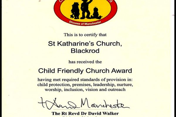 child friendly award