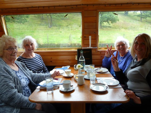 Afternoon tea canal boat trip Aug 19th 2015 007