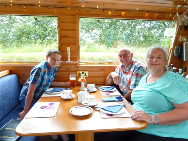 Afternoon tea canal boat trip Aug 19th 2015 008