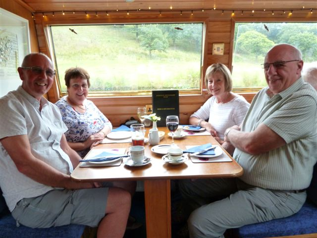 Afternoon tea canal boat trip Aug 19th 2015 009
