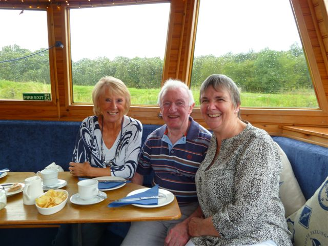 Afternoon tea canal boat trip Aug 19th 2015 010