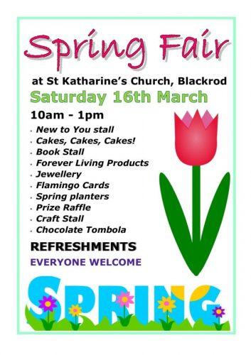 Spring Fair March 2019