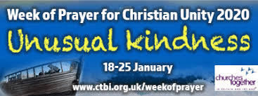 Week of Prayer for Christian Unity - 18th to 25th January 2020